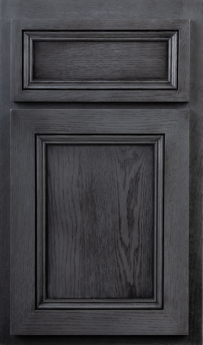 Door Riftsawn White Shale Satin Full Black 109 FPSQ