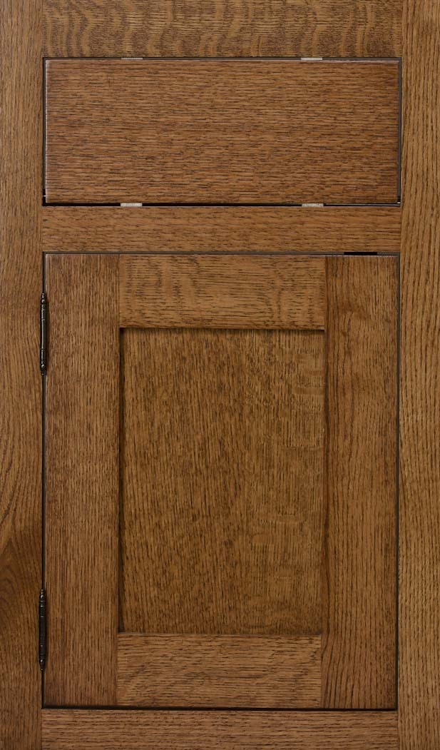 quartersawn red oak fruitwood stain